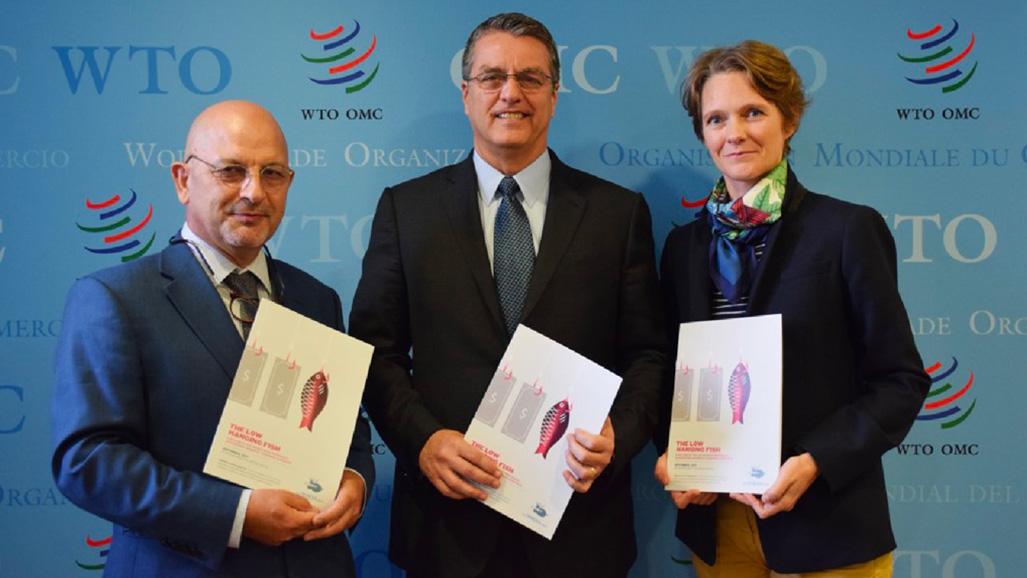Claire Nouvian à l'OMC